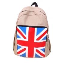 Cool Union Jack Flag  Leisure Canvas Backpack