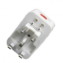One Universal Worldwide Travel Wall Charger AC Power AU UK US EU Plug Adapter Adaptor.