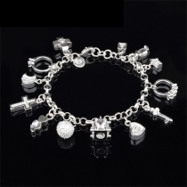 Fashion Various Pendants Bracelet
