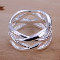 Fashion Hollow Out Fishnet Shaped Rings