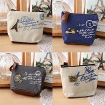 Retro Style Women Coin Bag Purse Wallet