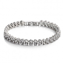 Luxurious Rhinestone Crystal Bracelet for Women