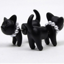 Cute 3D Animal Shaped Stud Earrings