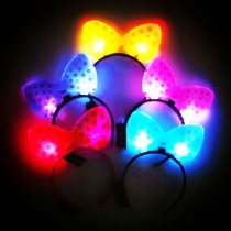 LED Glowing Bowknot Headband