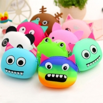 Cute Cartoon Silicone Coin Purse