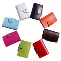 Multifunction 24/12 Card Slots ID Credit Cards Holder Bag