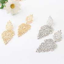 Bohemian Style Hollow Out All-match Earrings