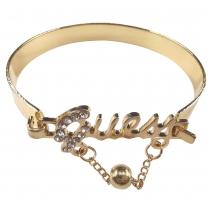 Fashion Rhinestone-Encrusted LOVE Bracelet