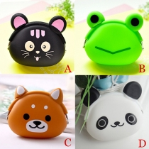 Cute Cartoon Silicone Mini Bag