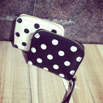 Fashion Dots Printed Coin Purse