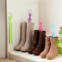 Creative Scalable Ballet Girl Support Rack for Boots