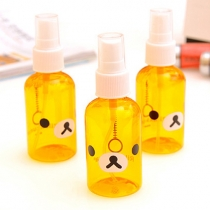 Cute Bear Face Printed Spray Bottle