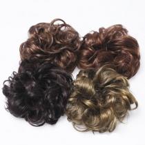 Hot Sale Wig Hair Scrunchy Donut Headwear