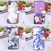 Ethnic Style Printed Long Wallet for Women