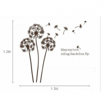 Removable DIY Dandelion Wall Stickers