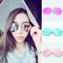 Fashion Round Frame Anti-UV Sunglasses