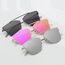 Fashion Retro Colorful Full Frame Sunglasses