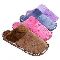 Fashion Warm Cotton Home Slipper