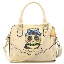 Cute Cartoon Pattern Handbag Shoulder Messenger Bag