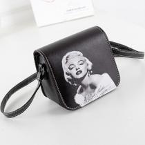 Fashion Print Pattern Shoulder Messenger Bag