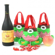 Cute Elf Candy Pouch Christmas Gift Bags