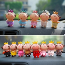 Cute Cartoon Doll Automotive Decorations