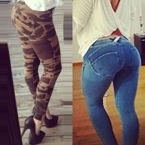 Sexy Low-waist Slim Fit Pencil Pants
