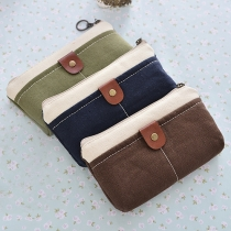 Retro Style Canvas Storage Package Coin Purse