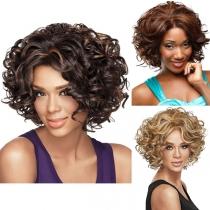 Fashion Short Curly Hair Wigs
