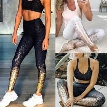 Fashion High Waist Printed Stretch Leggings