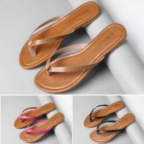 Fashion Flat Heel Flip-flops