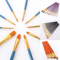 Hot Sale Professional Paint Brush Set 10 pcs/Set