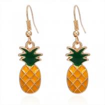 Sweet Style Pineapple Shaped Earrings