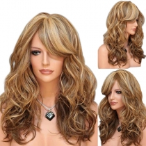 Hot Sale Mixed Color Long Curly Wigs