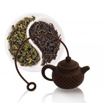 Creative Style Teapot Shaped Silicone Tea Strainer