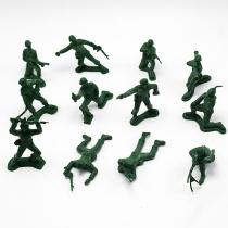 Retro Style Soldiers Model Toys 12 pcs/Set