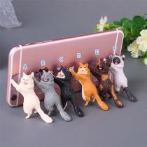 Cute Style Cat Shape Sucker Mobile Phone Holder