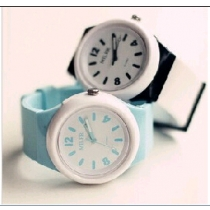 Lovely jelly Fresh Big Dial Watch