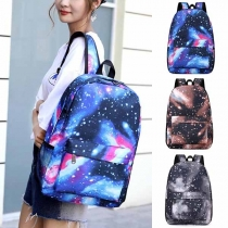 Fashion Starry Sky/Lightning Printed Backpack