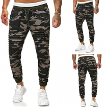 Fashion Camouflage Printed Man's Casual Pants