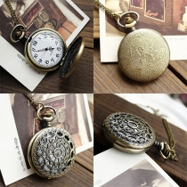 Retro Style Hollow Out Cobweb Pocket Watch