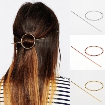 Simple Geometric Shaped Hair Stick Hairpin
