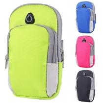 Fashion Contrast Color Sports Arm Bag for Phones