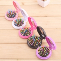 Portable Foldable 2 in 1 Make-up Comb
