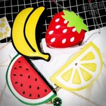 Creative Style Fruit Shaped Shoulder Messenger Bag