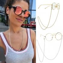 Fashion Anti-slip Beaded Glasses Chain