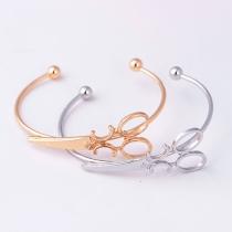 Creative Style Scissors Shaped Bracelet