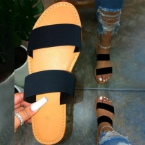 Fashion Flat Heel Open Toe Slippers