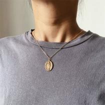 Retro Style Coin Pendant Necklace