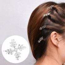 Chic Style Snowflake Shaped Dreadlocks Hair-pin 5 pcs/Set